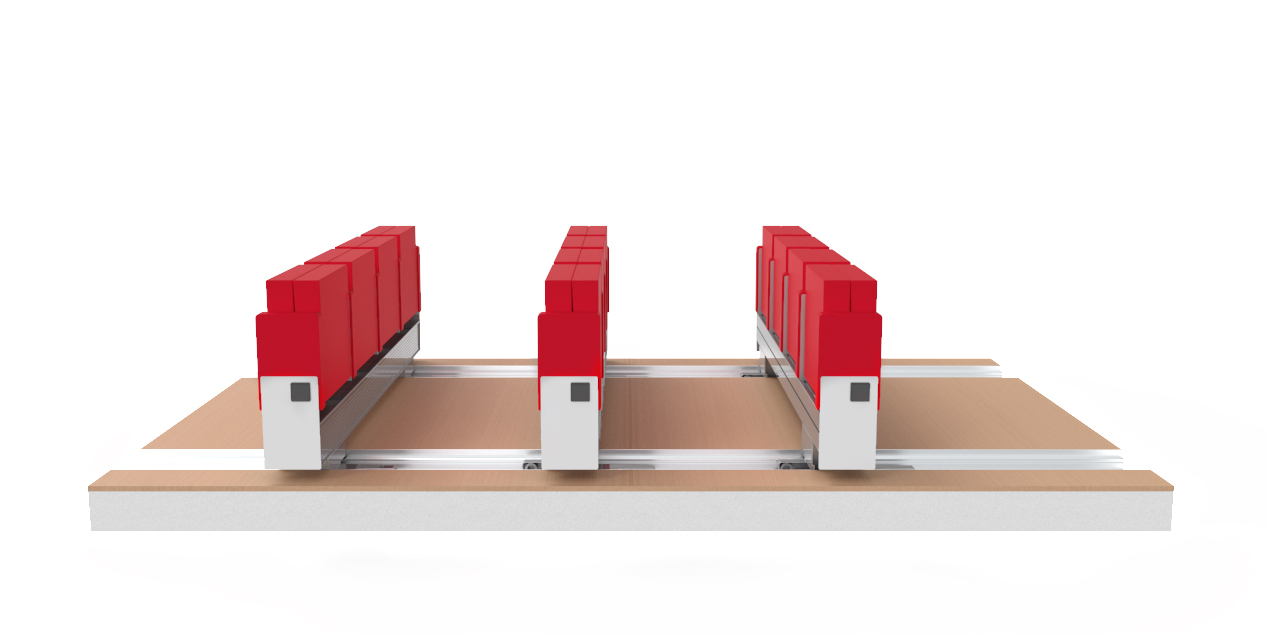 Mutarail Seating System
