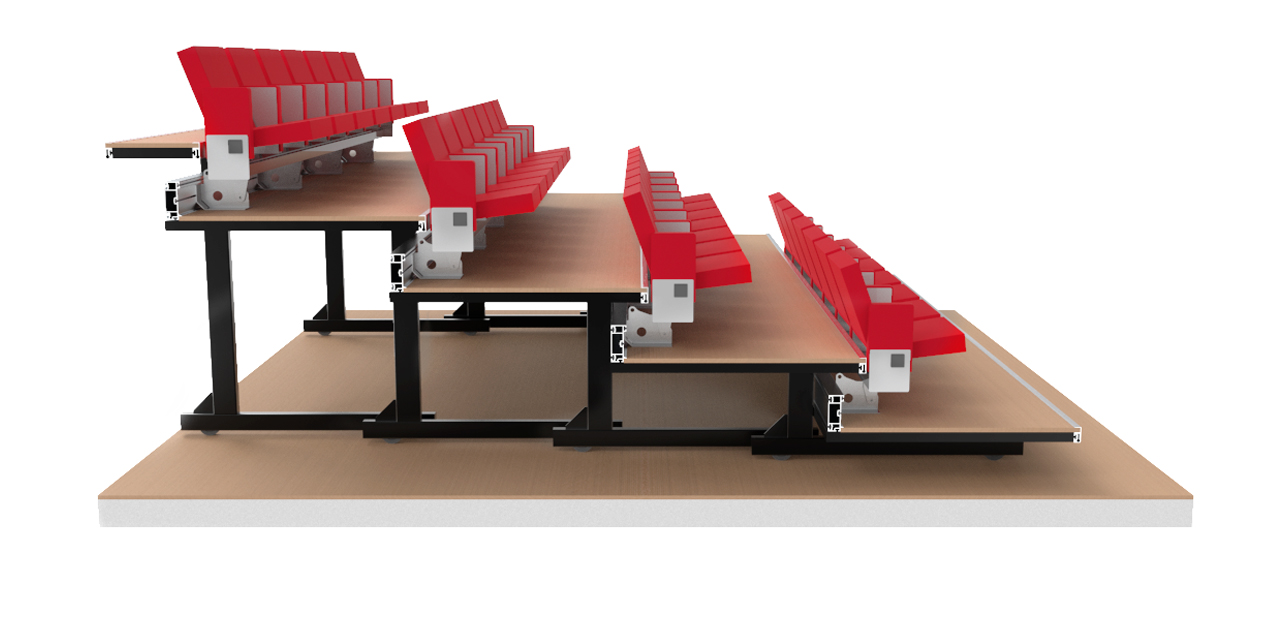 Retractable Seating System